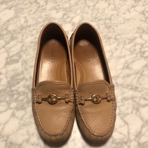 Coach loafers - beige - size 8